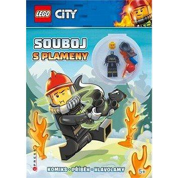 LEGO CITY Souboj s plameny: Komiks, příběh, hlavolamy, obsahuje minifigurku (978-80-264-2369-0)