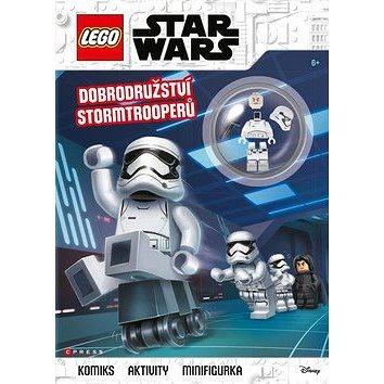 LEGO Star Wars Dobrodružství Stormtrooperů: Komiks, aktivity, figurka (978-80-264-2392-8)