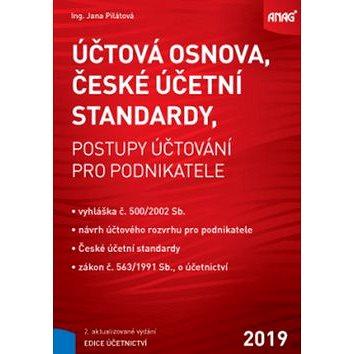Účtová osnova, České účetní standardy 2019: postupy účtování pro podnikatele (978-80-7554-199-4)