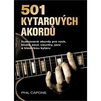 501 kytarových akordů: Ilustrované akordy pro rock, blues, soul, country, jazz a klasickou kytaru (978-80-7529-693-1)