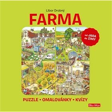 Farma: Puzzle - Omalovánky - Kvízy (978-80-88276-54-8)