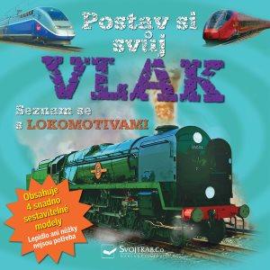 Postav si svůj vlak: Seznam se s lokomotivami (978-80-256-2548-4)