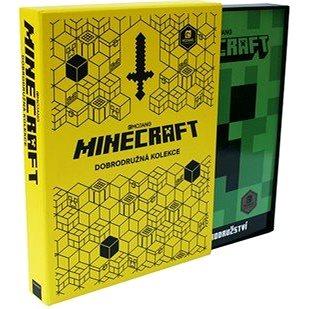 Minecraft Dobrodružná kolekce: Průvodce po Klasickém světě, Průvodce pro přežití, Výzvy a dobrodružs (978-80-252-4611-5)