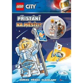 LEGO CITY Přistání na Měsíci: Komiks, příběh, hlavolamy, obsahuje minifigurku (978-80-264-2614-1)