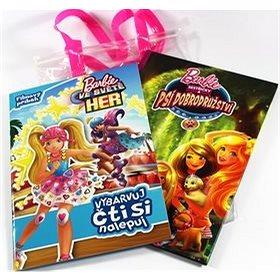Barbie Taška plná příběhů: Barbie ve světe her, Sestřičky a psí dobrodružství (978-80-252-4771-6)