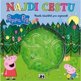 Najdi cestu Peppa Pig: Veselá bludiště pro nejmenší (8595593819464)