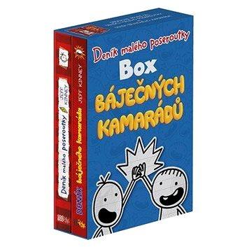 Box báječných kamarádů: Deník malého poseroutky a Deník báječného kamaráda (978-80-7544-915-3)