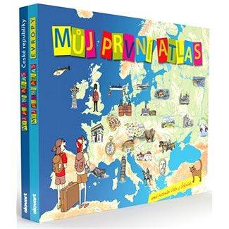 Můj první atlas: Můj první atlas České republiky a Můj první atlas Evropy (2100004115590)