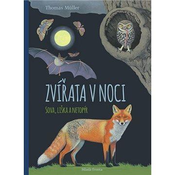Zvířata v noci: Sova, liška a netopýr (978-80-204-5290-0)