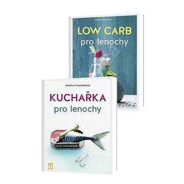 Balíček 2 knih: Kuchařka pro lenochy & Low Carb pro lenochy