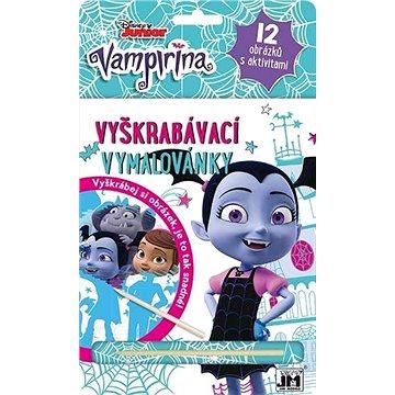 Vyškrabávací vymalovánky Vampirina: 12 obrázků s aktivitami (8595593819341)