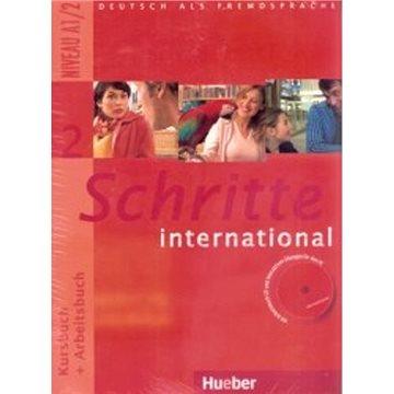 Schritte international 2: Paket - KB + AB mit Audio-CD + Gloss. (9783193918529)