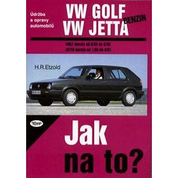 VW Golf, Jetta benzín od 9/83 do 6/92: Údržba a opravy automobiů č. 5 (80-7232-075-0)