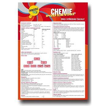 Klett Chemie pod lavicí pro střední škoíly Dokážeš to!: Souhrnné informace z chemie pro SŠ (978-80-7397-060-4)