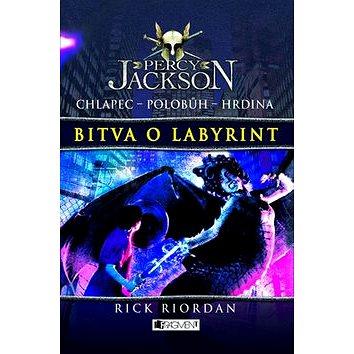 Percy Jackson Bitva o labyrint: Chlapec Polobůh Hrdina 4. díl (978-80-253-1207-0)