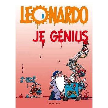Leonardo 1 Je génius (978-80-7447-050-9)