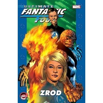 Ultimate Fantastic Four: Zrod (978-80-7449-035-4)