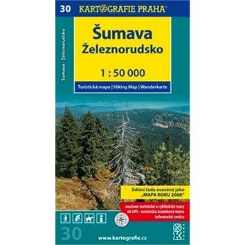 Šumava Železnorudsko: Turistická mapa č. 30 1:50 000 (978-80-7393-165-0)