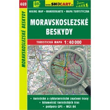 Moravskoslezské Beskydy 1:40 000: 469 (978-80-7224-747-9)