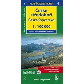 České středohoří České Švýcarsko: 1:100 000 (978-80-7393-122-3)