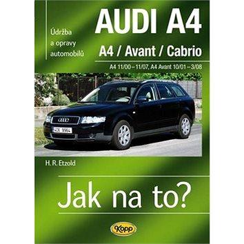 Audi A4/Avant/Cabrio 11/00 - 11/07: Údržba a opravy automobilů č.113 (978-80-7232-412-5)