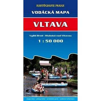 Vltava: vodácká mapa 1:50 000 (978-80-7393-192-6)