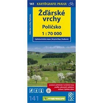 Žďárské vrchy: cykloturistická mapa č. 171, 1:70 000 (978-80-7393-176-6)