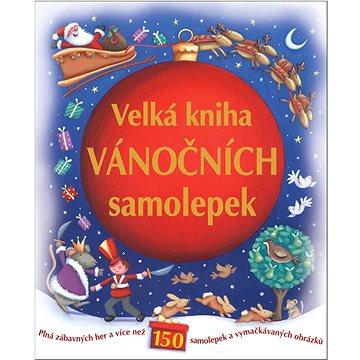 Velká kniha vánočních samolepek (978-80-256-0626-1)