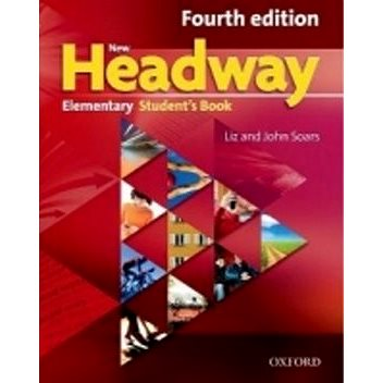 New Headway Elementary Students Book Czech Edition + DVD: Fourth Edition (978-0-947693-4-1)