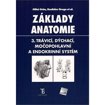 Základy anatomie 3.: Trávicí, dýchací, močopohlavní a endokrinní systém (978-80-7262-302-0)