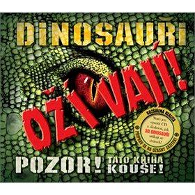 Dinosauři ožívají! 3D: POZOR! Tato kniha kouše (978-80-7447-079-0)