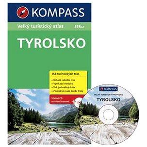 Tyrolsko: Velký turistický atlas 1:5000 000 (859-5-332-0257-2)