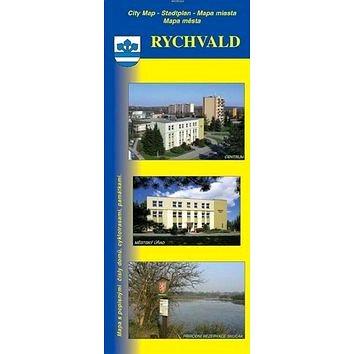 Rychvald: mapa města s popisnými čísly domů (978-80-86486-95-6)
