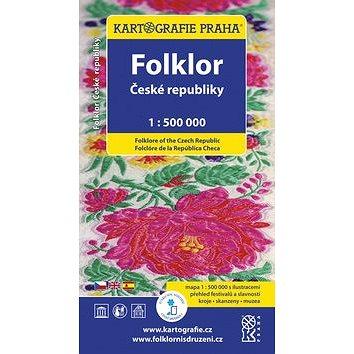 Folklor České republiky 1:500 000 (978-80-7393-257-2)