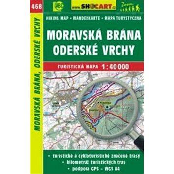 Moravská Brána, Oderské vrchy 1:40 000: 468 (978-80-7224-746-2)