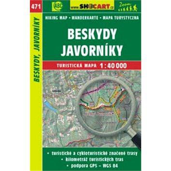 Beskydy, Javorníky 1:40 000: 471 (978-80-7224-749-3)