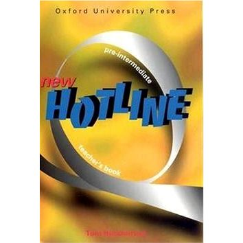 New hotline Pre-intermediate Teacher´s book (978-0-943576-5-4)