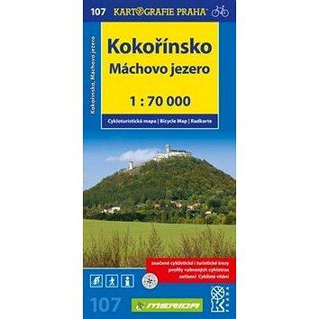 Kokořínsko, Máchovo jezero 1:70 000: Cykloturistická mapa č. 107 (978-80-7393-236-7)