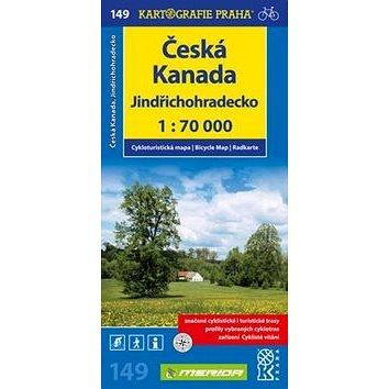 Česká Kanada, Jindřichohradecko 1:70 000: Cykloturistická mapa č. 149 (978-80-7393-239-8)