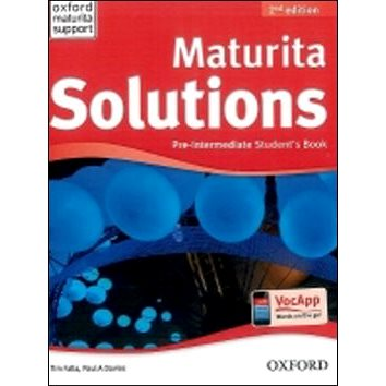 Maturita Solutions Pre-Intermediate Student´s Book Czech Edition: 2nd Edition (978-0-945529-3-6)