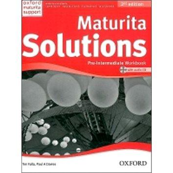 Maturita Solutions Pre-Intermediate Workbook with Audio CD PACK Czech Edition: 2nd Edition (978-0-945535-9-9)