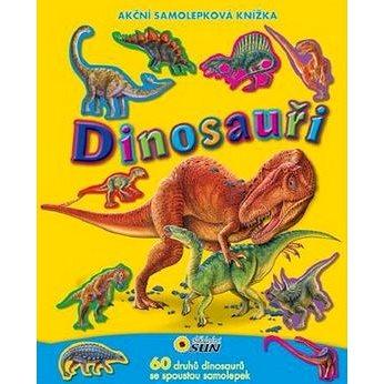 Dinosauři: Akční samolepková knížka (978-80-7371-454-3)