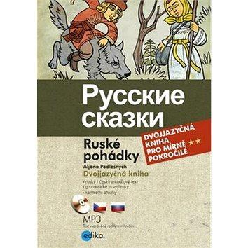 Russkie skazki Ruské pohádky: Dvojjazyčná kniha + CD (978-80-266-0034-3)