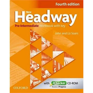 New Headway Pre-Intermediate Workbook Fourth Edition with Key + iChecker CD-rom (978-0-947696-4-8)