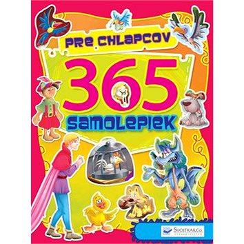 365 samolepiek pre chlapcov (978-80-8107-555-1)
