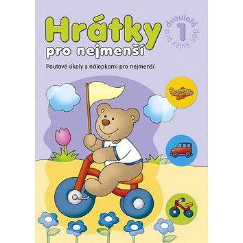 Hrátky pro nejmenší Kvízy pro dvouleté děti 1: Poutavé úkoly s nálepkami pro nejmenší (978-80-87641-20-0)