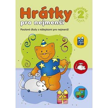 Hrátky pro nejmenší Kvízy pro dvouleté děti 2: Poutavé úkoly s nálepkami pro nejmenší (978-80-87641-21-7)