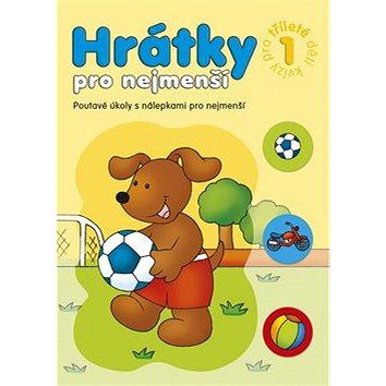Hrátky pro nejmenší Kvízy pro tříleté děti 1: Poutavé úkoly s nálepkami pro nejmenší (978-80-87641-22-4)