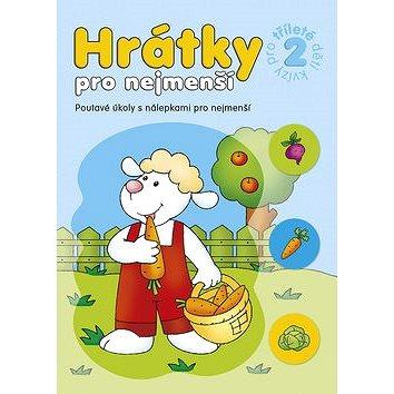 Hrátky pro nejmenší Kvízy pro tříleté děti 2: Poutavé úkoly s nálepkami pro nejmenší (978-80-87641-23-1)