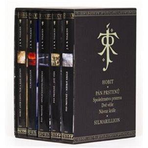 J. R. R. Tolkien dárkový komplet: Hobit, Společenstvo prstenu, Dvě věže, Návrat krále, Silmarilion (978-80-257-0749-4)